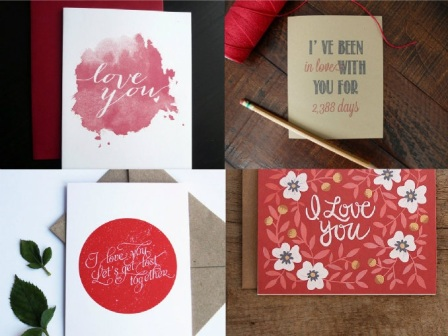 Friday Faves: Etsy Valentines | Strawberry Moon Blog