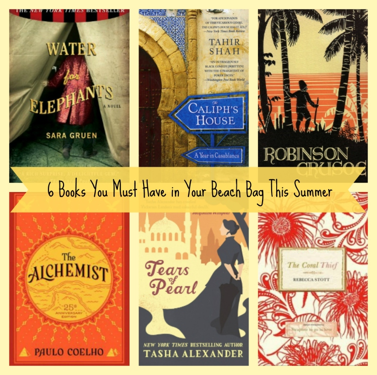 Friday Faves: 6 Books You Must Have in Your Beach Bag This Summer