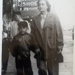 Louise & David, c. 1948