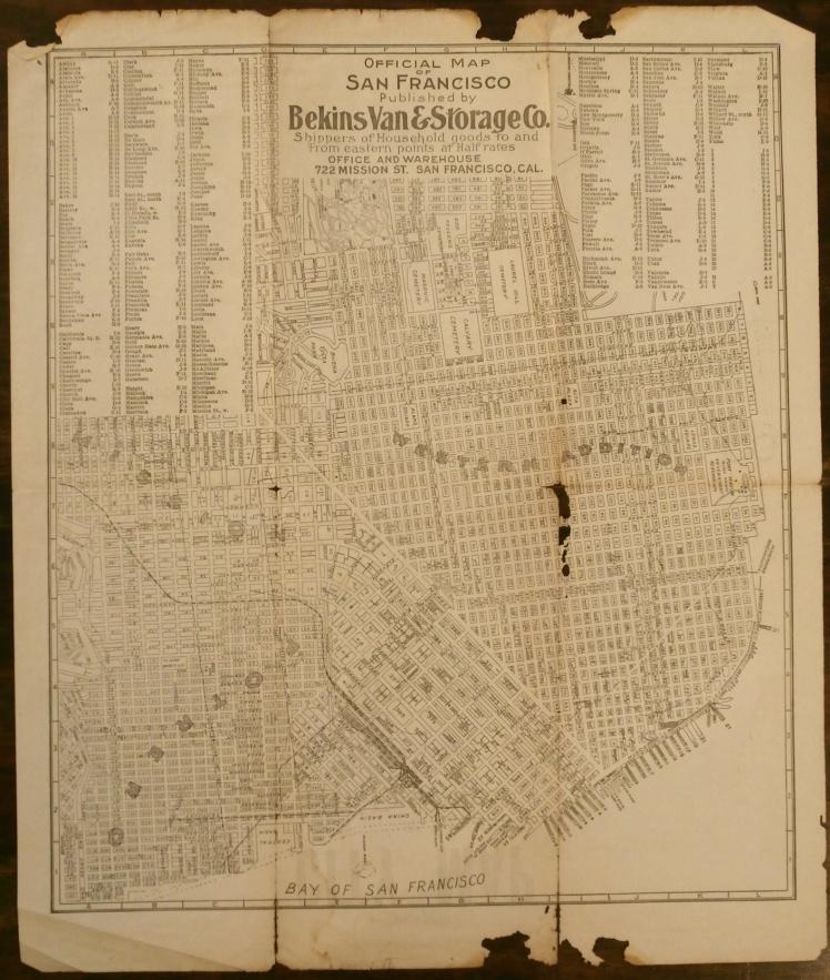 Throwback Thursday: Vintage Maps   Strawberry Moon Blog