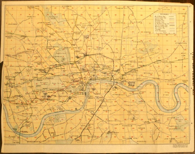 Throwback Thursday: Vintage Maps | Strawberry Moon Blog