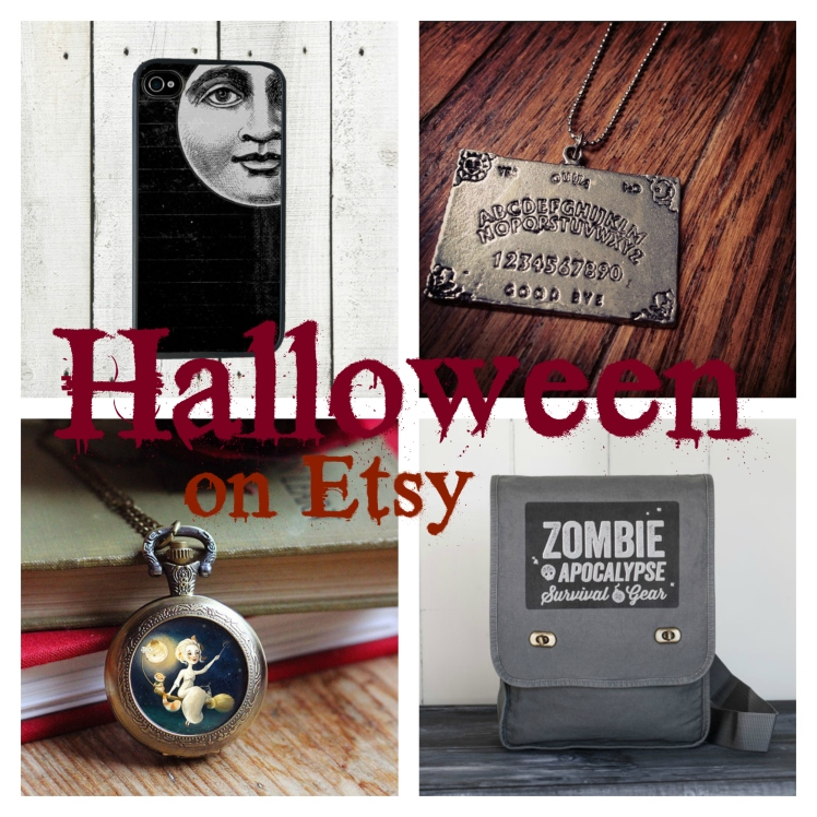 Friday Faves: Halloween Accessories on Etsy | Strawberry Moon Blog