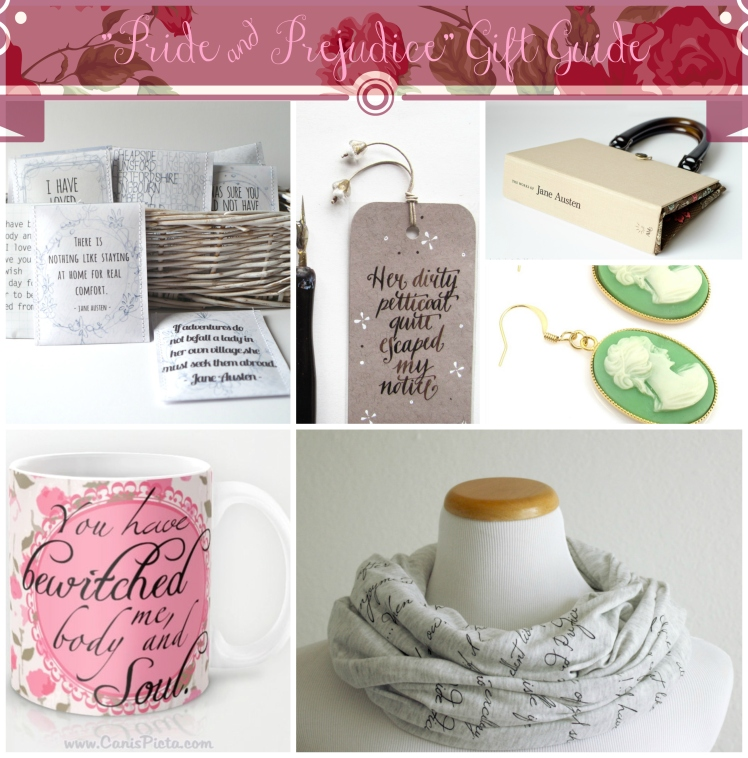 "Gift Guide for Romantics (and Lovers of ""Pride and Prejudice"") 