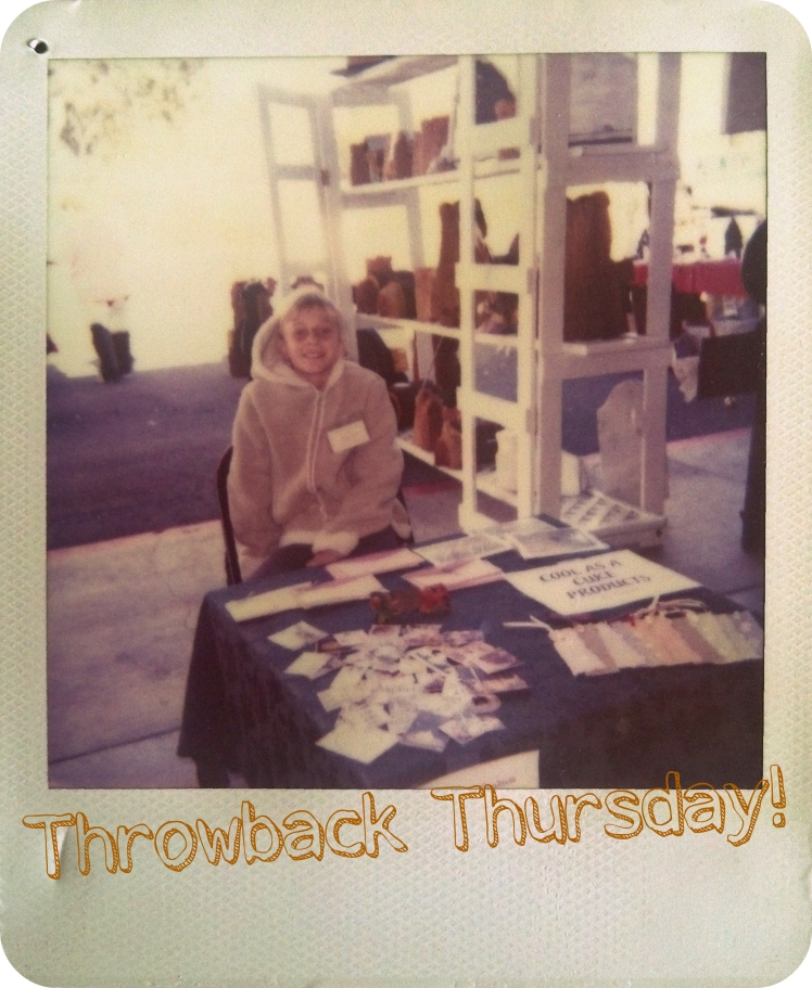 Throwback Thursday: My First Business | Strawberry Moon Blog
