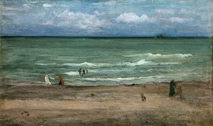 The Sea, Pourville by Whistler | Strawberry Moon Blog