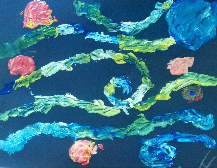 Kids' Art Lesson: Vincent Van Gogh | Strawberry Moon Blog