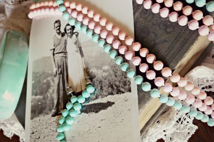 Throwback Thursday: Great-Grandma's Vintage Jewelry | Strawberry Moon Blog