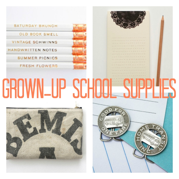 Friday Faves: Grown-Up School Supplies | Strawberry Moon Blog