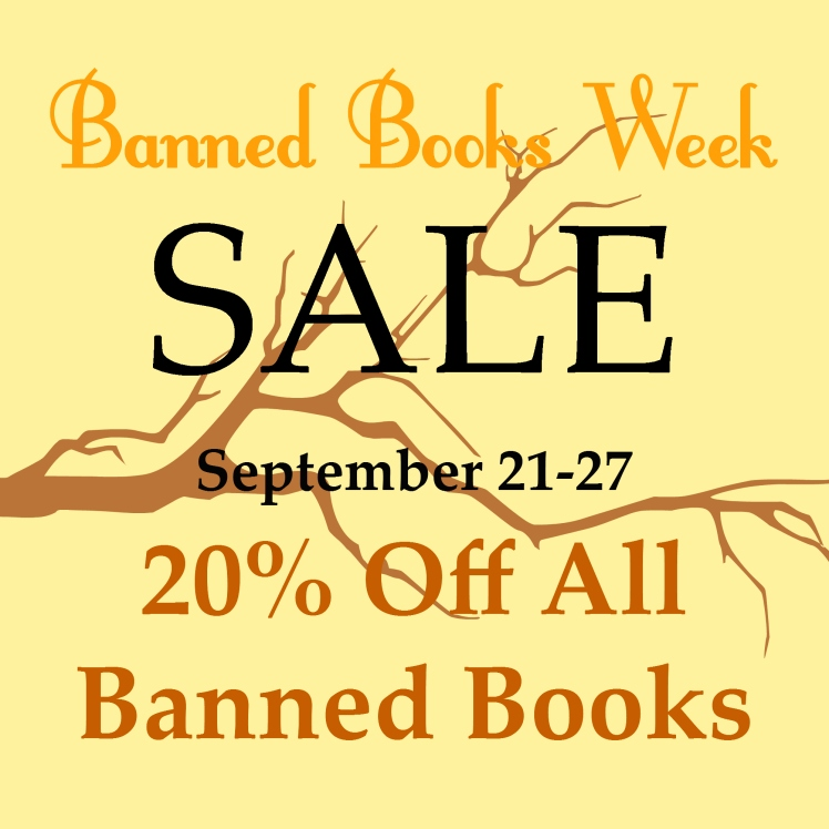 Banned Books Week Sale | Strawberry Moon Blog