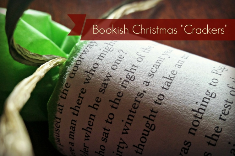 "Bookish Christmas ""Crackers"" DIY Tutorial 