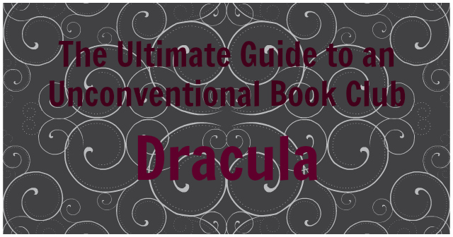 The Ultimate Guide to an Unconventional Book Club: Dracula Halloween Party | Strawberry Moon Blog