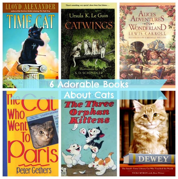 "6 Books About Cats for My Kitty's ""Birthday"" 