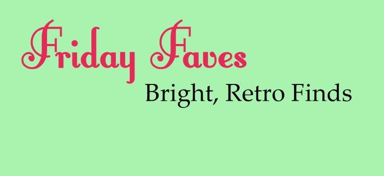 Friday Faves: Bright, Retro Etsy Finds | Strawberry Moon Blog