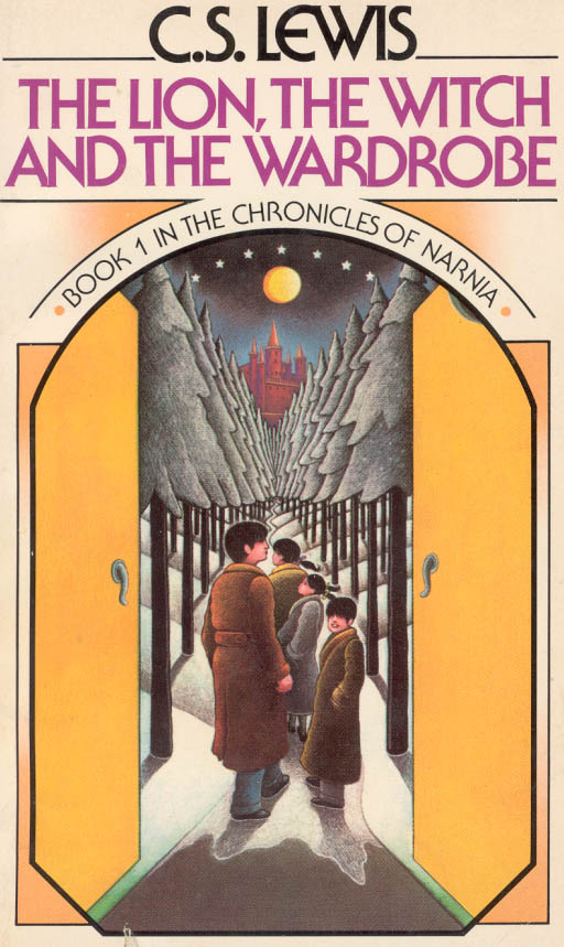 "70 Years of ""Chronicles of Narnia"" Cover Art 