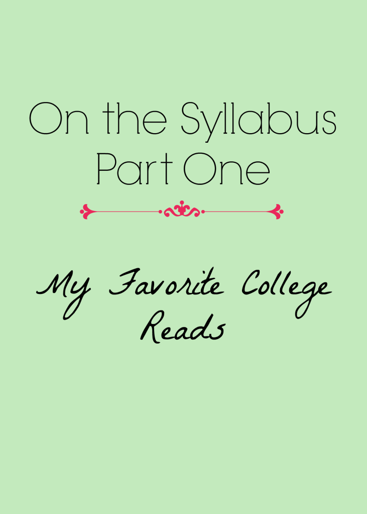 On the Syllabus: Part One | Strawberry Moon Books